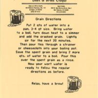 Grain Directions