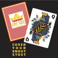 Cover Your Snout Stout Label