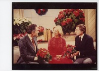 Dr. Marc Cathy, Dinah Shore and Paul Ecke Jr. on the Dinah Shore Show