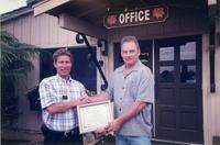 Paul Ecke III at the Ranch main office