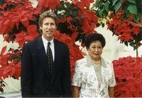 Paul Ecke III and Amelita Ramos