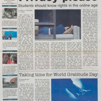 The Cougar Chronicle <br /><br /> September 25, 2013