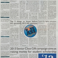 The Cougar Chronicle <br />