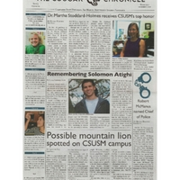 The Cougar Chronicle<br />