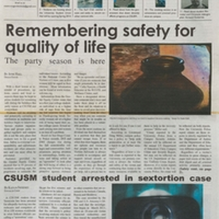 The Cougar Chronicle<br /><br /> October 9, 2013