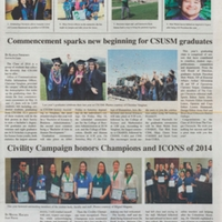 The Cougar Chronicle<br /><br /> May 7, 2014